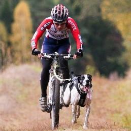 Team VOM: Karoline Conradi Øksnevad, hundekjører