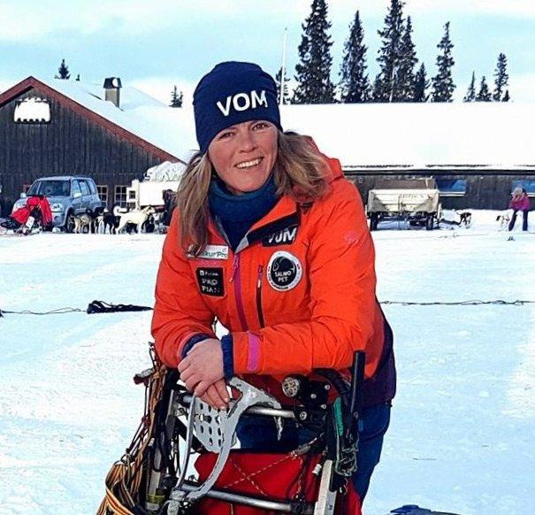 Team Vom: Nina Skramstad, hundekjører