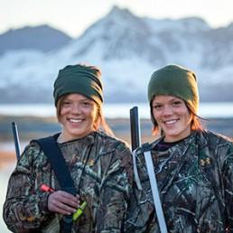 Team VOM: Jegertvillingene – Kristine og Johanne Thybo Hansen