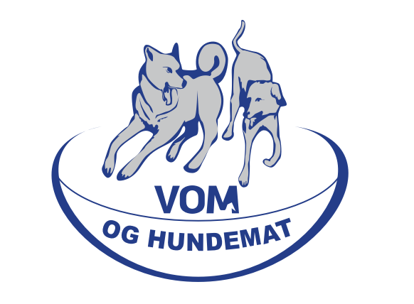 vom logo blå