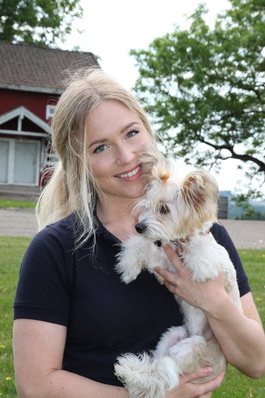 Bilde av Silje Salbu, produktansvarlig i VOM og hundemat.