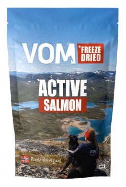 emballajse VOM Freeze Dried salmon